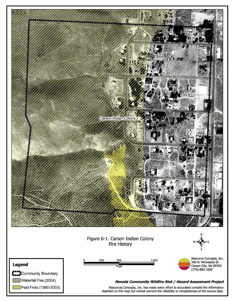 6 0 Carson Indian Colony - Carson City Fire Plan - Nevada Community
