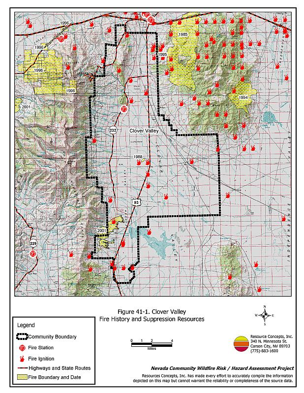 41 0 Clover Valley - Elko County Fire Plan - Nevada