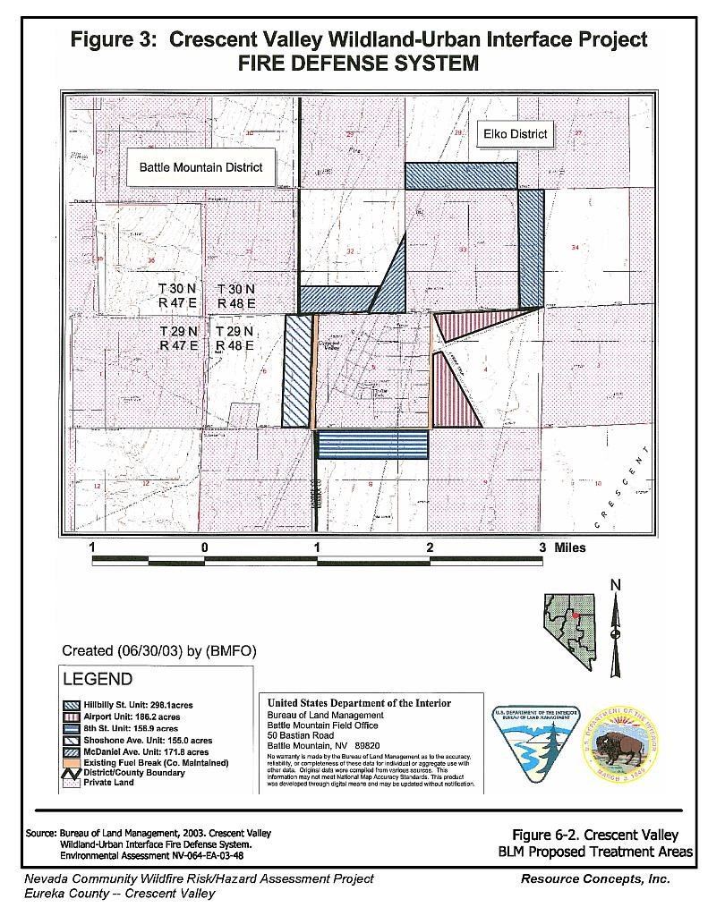 60 Crescent Valley Eureka County Fire Plan Nevada Community Wildfire Engine Wiring Diagram Small