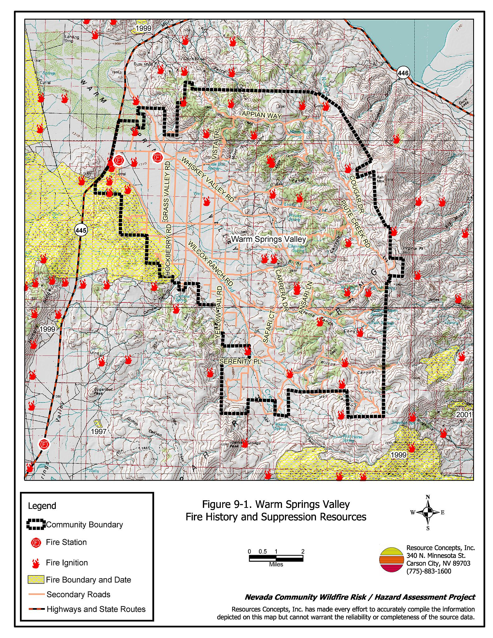 9 0 Warm Springs Valley - Washoe County Fire Plan - Nevada