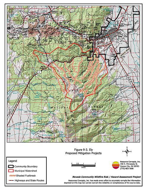 9 0 Ely White Pine County Fire Plan Nevada Community